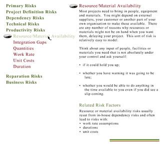 Broadleaf Capital International Project Risk Management - Types of risk management